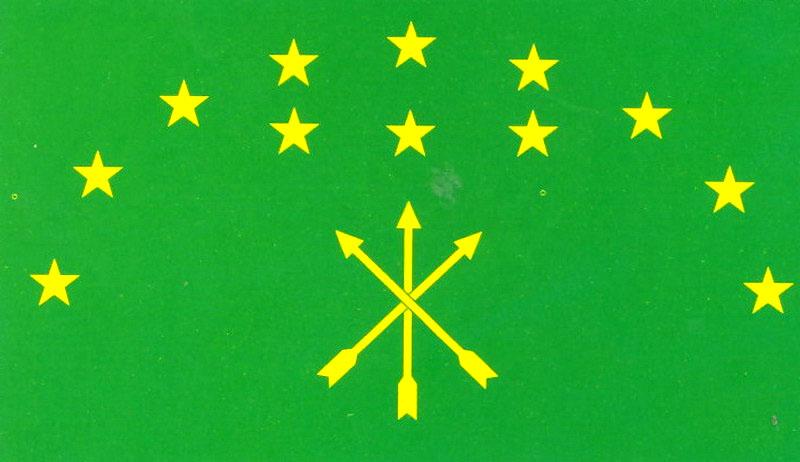 адыгейский флаг