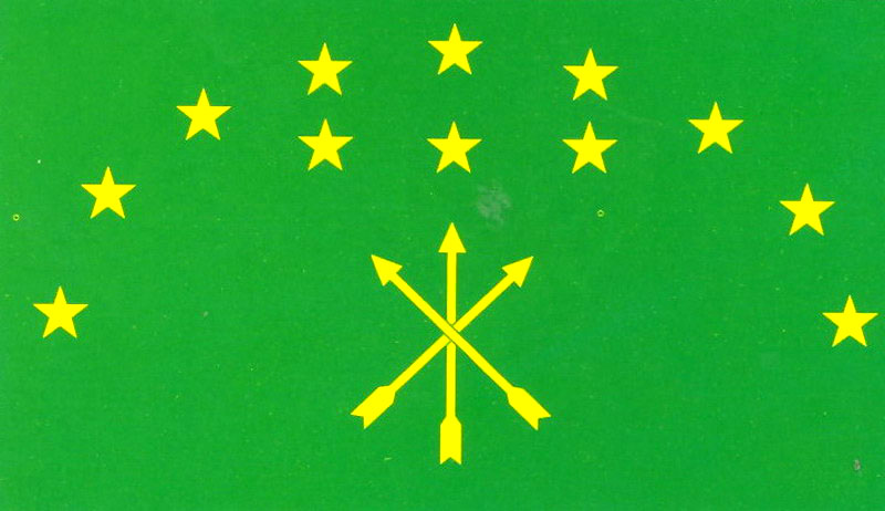 адыгский флаг